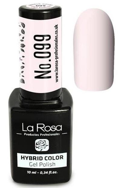 La Rosa Gel Polish Hybrid Color Lakier hybrydowy 099 10ml