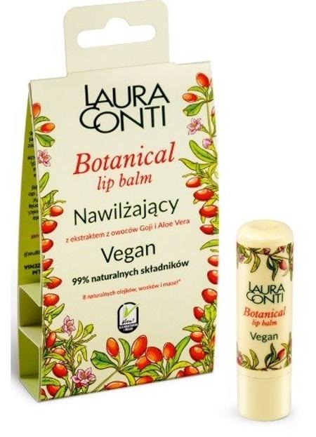 Laura Conti Wegański balsam do ust nawilżający Owoce goji