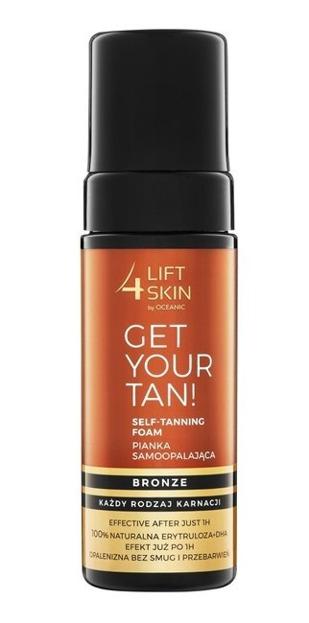 Lift4Skin Get Your Tan Pianka samoopalająca 150ml