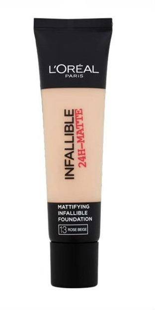 Loreal Infallible 24-Matte Mattifying Foundation Długotrwały podkład matujący do twarzy 13 Rose Beige 35 ml