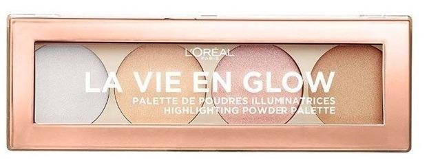 Loreal La Vie En Glow Paleta rozświetlaczy 02 Cool Glow