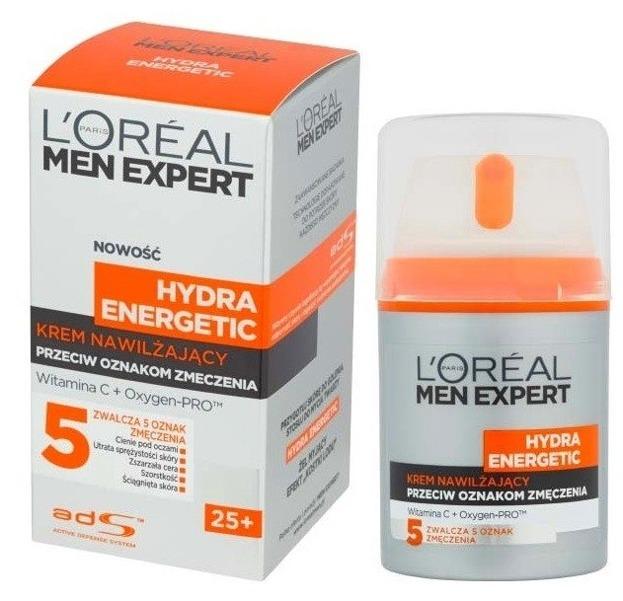 Loreal Men Expert Hydra Energetic Krem nawilżający do twarzy 50ml