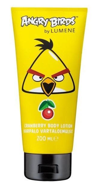 Lumene Angry Birds Cranberry Body Lotion, Balsam do ciała z ekstraktem z arktycznej żurawiny, 200ml