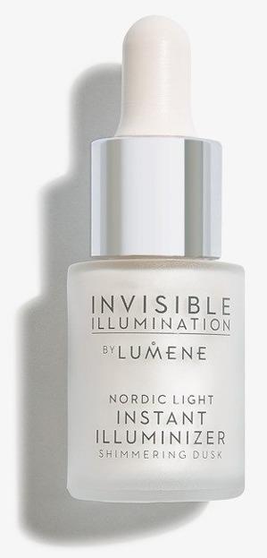 Lumene Invisible Illumination Rozświetlacz z serum Shimmering Dusk 15ml