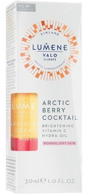 Lumene Valo Arctic Berry Coctail Vitamin C - Rozświetlający koktajl w witaminą C do skóry normalnej i suchej 30ml [LVS]