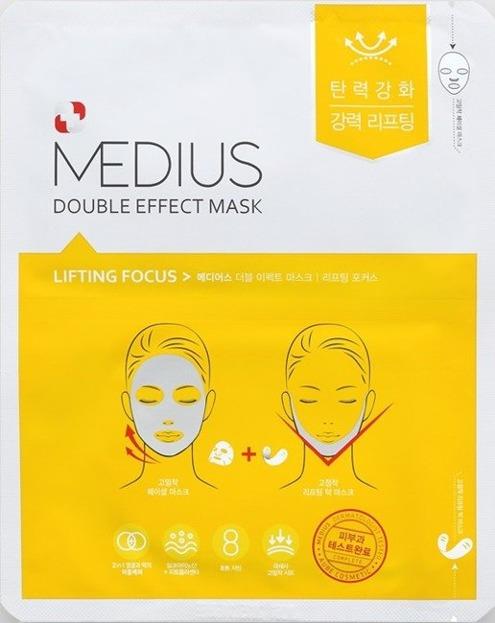 MEDIUS DOUBLE EFFECT MASK Lifting Maska do twarzy w płachcie 25ml