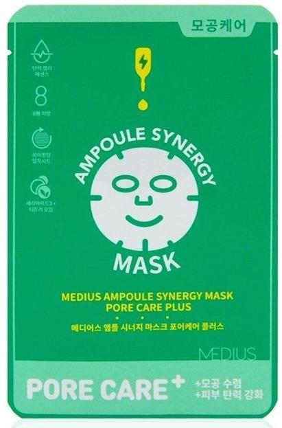 MEDIUS MINI Ampoule Sygnery Mask Pore Care Maska w płachcie 25ml