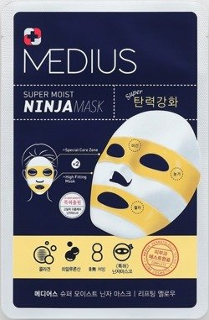 MEDIUS Ninja Mask Lifting Yellow Maska w płachcie 33ml