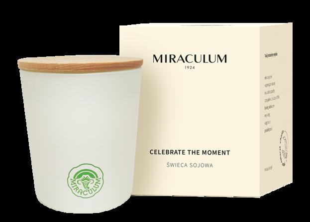 MIRACULUM świeca sojowa Celebrate The Moment 170g