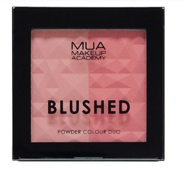 MUA BLUSHED Powder Colour Duo Podwójny róż do policzków PEACHY