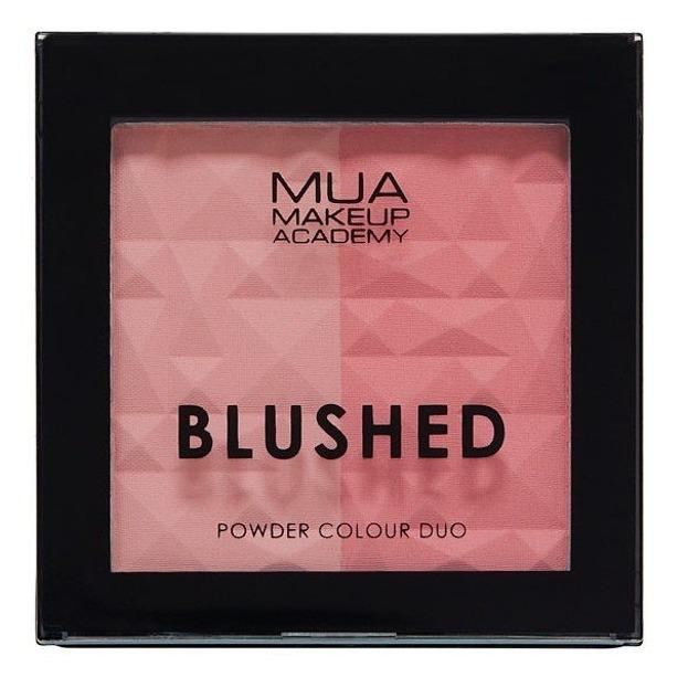 MUA BLUSHED Powder Colour Duo Podwójny róż do policzków SPICE 7,5g