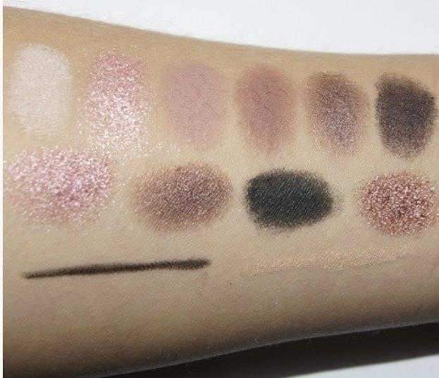 MUA Eyeshadow Palette Elysium  - Paleta 10 cieni do powiek + kredka 17g