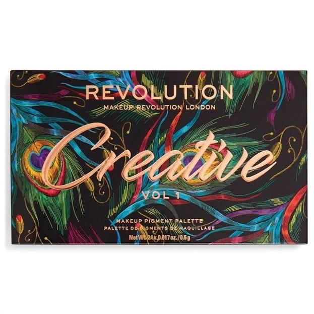 Makeup Revolution Creative Vol 1 Paleta cieni do powiek