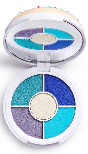 Makeup Revolution DONUTS Blueberry Crush Zestaw cieni do powiek
