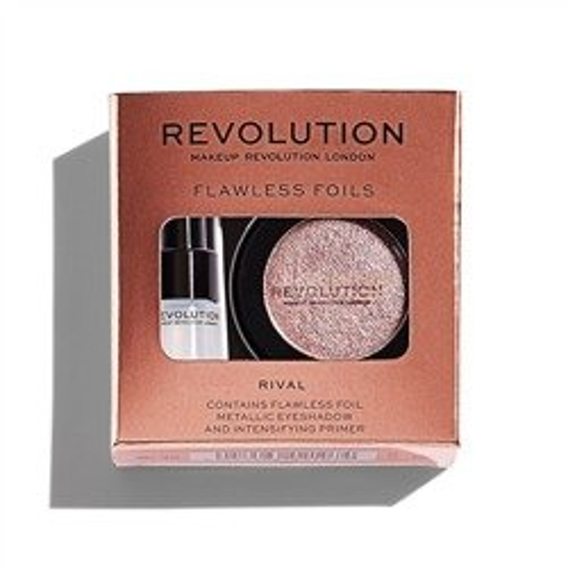 Makeup Revolution Flawless Foils Cień foliowy do powiek Rival