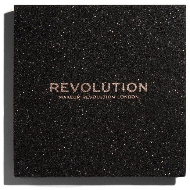 Makeup Revolution Glitter Palette Paleta brokatowych cieni do powiek Abracadabra