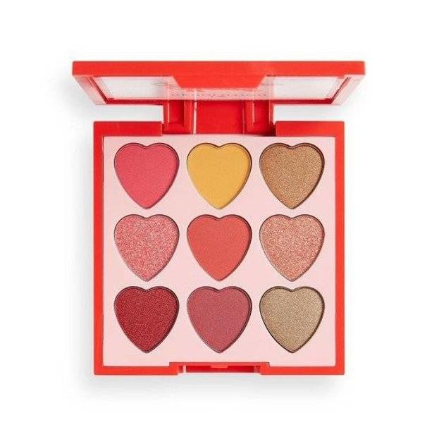 Makeup Revolution Heart Breakers paleta cieni do powiek Courage