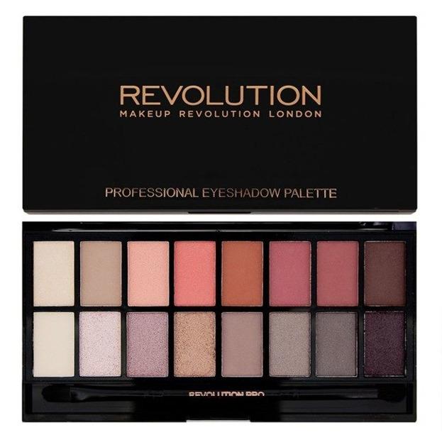 Makeup Revolution New-Trals vs Neutrals - Paleta 16 cieni do powiek