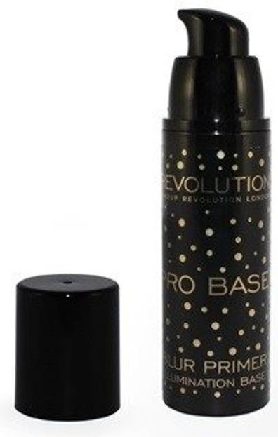 Makeup Revolution PRO Blur Primer Illumination Rozświetlająca baza pod podkład 30ml