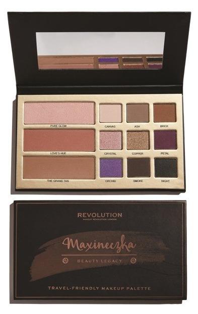 Makeup Revolution Paleta do makijażu Maxineczka