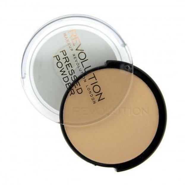 Makeup Revolution Pressed Powder - Puder prasowany  6,8g Translucent