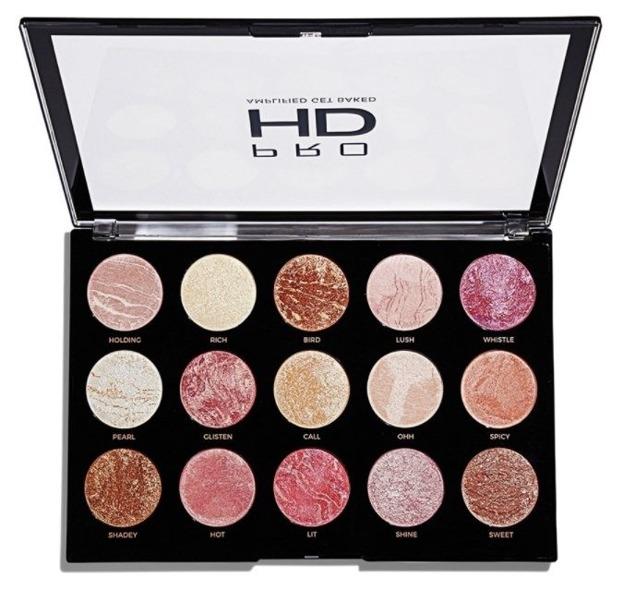 Makeup Revolution Pro HD Amplified Get Baked Paleta do konturowania twarzy
