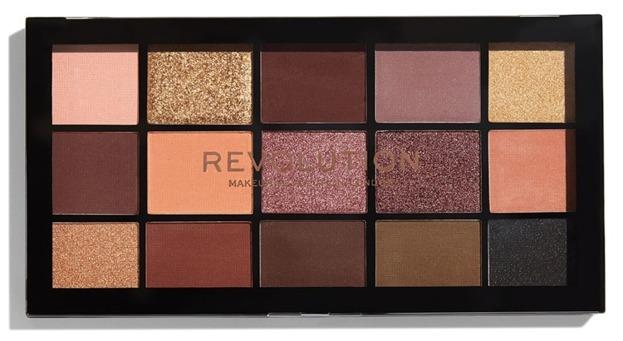 Makeup Revolution Re-Loaded Palette Velvet Rose Paleta cieni do powiek