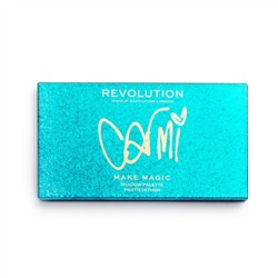 Makeup Revolution X Carmi Make Magic Paleta cieni do powiek