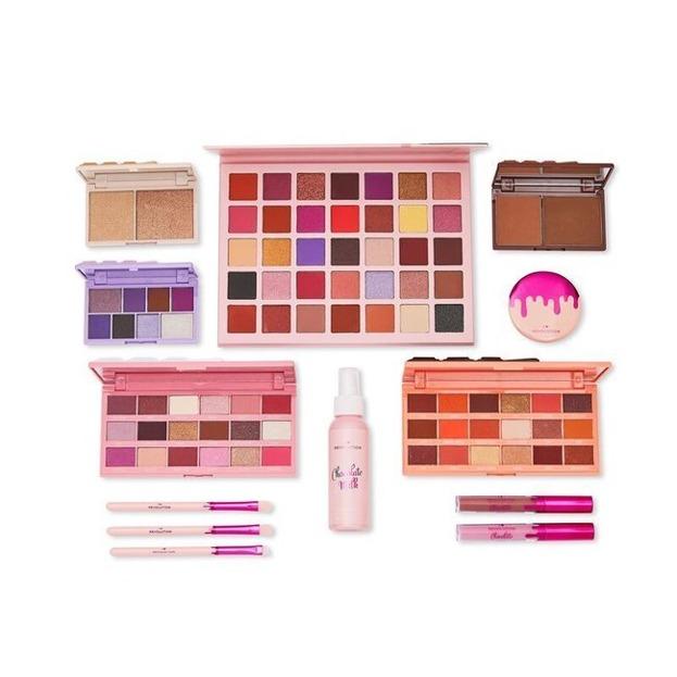 Makeup Revolution XMAS20 Zestaw prezentowy CHOCOLATE REVOLUTION