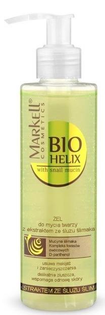 Markell Bio Helix Żel do mycia twarzy z ekstraktem ze śluzu ślimaka 200ml