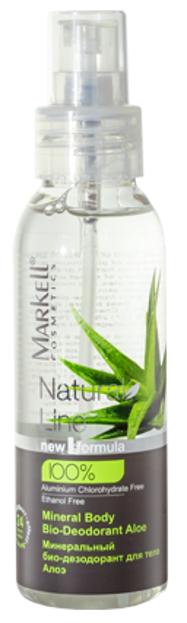 Markell Natural Line Mineralny BIO-Dezodorant do ciała Aloes 100ml