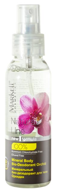 Markell Natural Line Mineralny BIO-Dezodorant do ciała Orchidea 100ml
