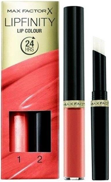 Max Factor Lipfinity Lip Colour Pomadka do ust + Baza nabłyszczająca 215