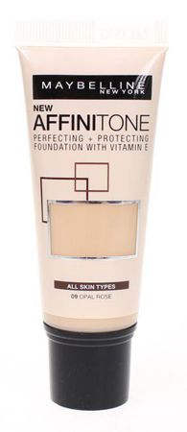 Maybelline Affinitone NEW - Podkład w tubce 09 Opal Rose, 30 ml