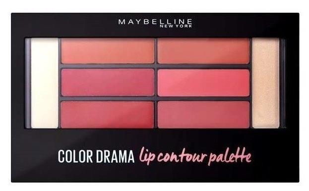 Maybelline Color Drama Lip Contour Palette Paletka pomadek do ust 02