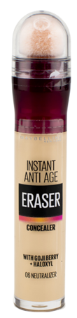 Maybelline Eraser Instant Anti-Age Korektor pod oczy 6 Neutralizer 6,8ml
