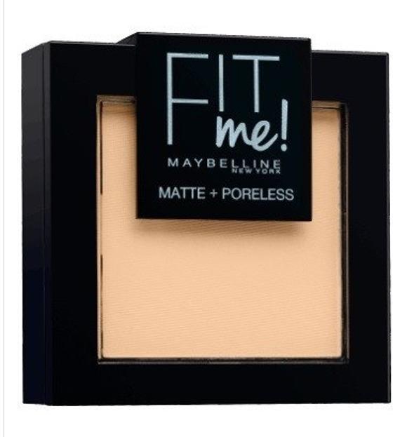 Maybelline Fit Me Pressed Powder Puder dopasowujący się do skóry 104 9g