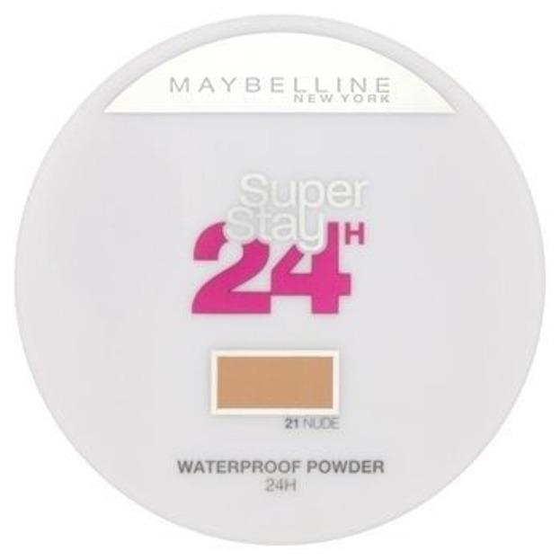 Maybelline SuperStay 24H Wodoodporny puder do twarzy 021 Nude