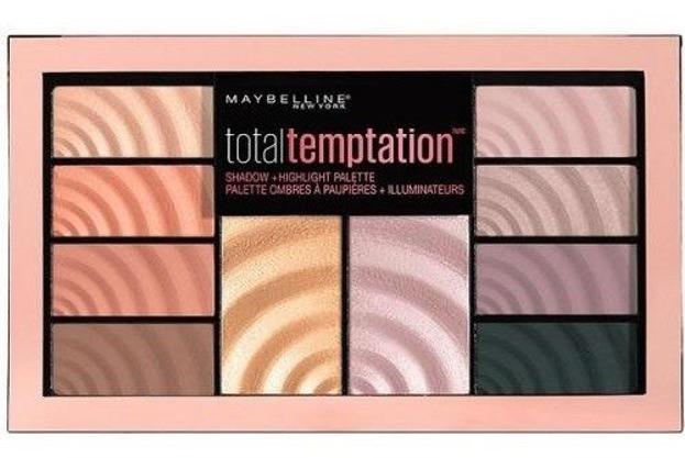 Maybelline Total Temptation Paletka cieni i rozświetlaczy