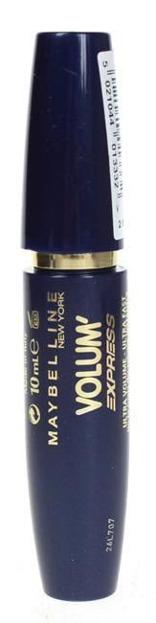 Maybelline Volum Express - pogrubiający tusz do rzęs - Black 10 ml
