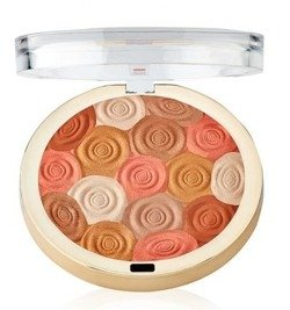 Milani Illuminating Face Powder - Puder rozświetlający 01 Amber Nectar