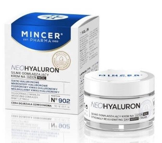 Mincer Pharma Neo Hyaluron Silnie odmładzający krem na dzień i na noc  N902 50ml