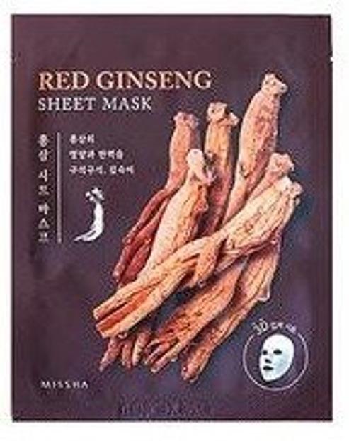 Missha Maska w płachcie RED GINSENG 3D