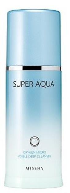 Missha Super Aqua Oxygen Micro Visible Deep Pianka do mycia twarzy 120ml