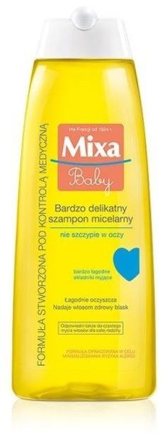Mixa Baby Bardzo delikatny szampon micelarny 250ml