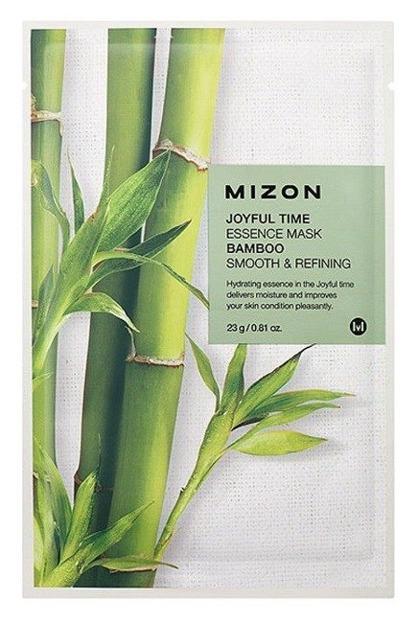 Mizon Joyful Time Essence Mask Bamboo Wygładzająco-oczyszczająca maska w płachcie 23g