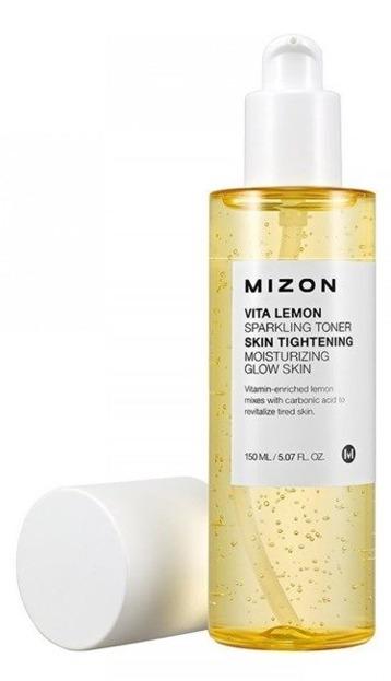 Mizon Vita Lemon Sparkling Toner - Cytrynowy tonik do twarzy 150ml