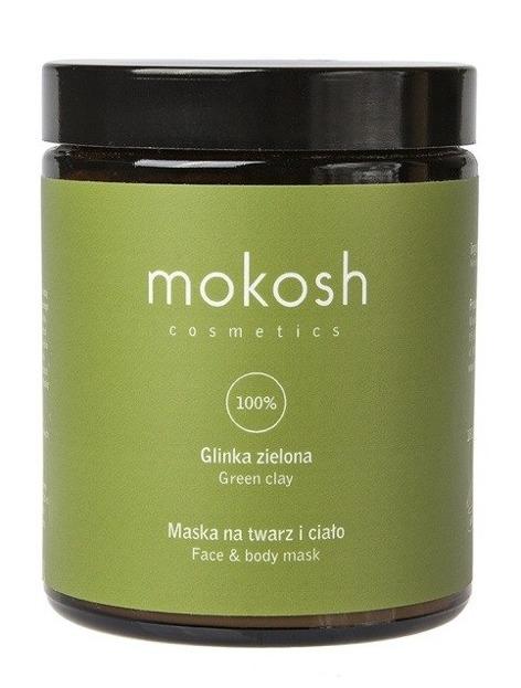 Mokosh Glinka zielona - Maska na twarz i ciało 180ml