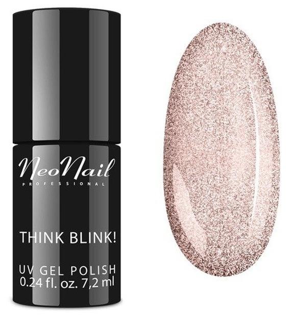 NEONAIL Think Blink! Lakier hybrydowy 6315 Shiny Rose 7,2ml