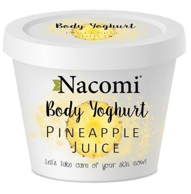 Nacomi Jogurt do ciała o zapachu orzeźwiającego ananasa 180ml